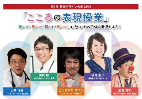第3回 医療デザイン大学LIVE 親子で参加したい!! 「こころの表現授業」